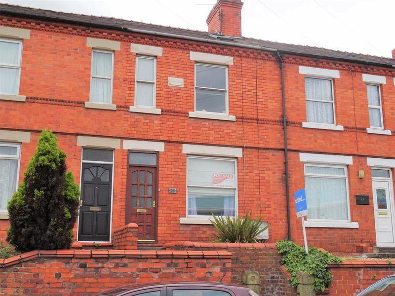 3 Bedrooms Terraced House for sale in Watery Road, Wrexham