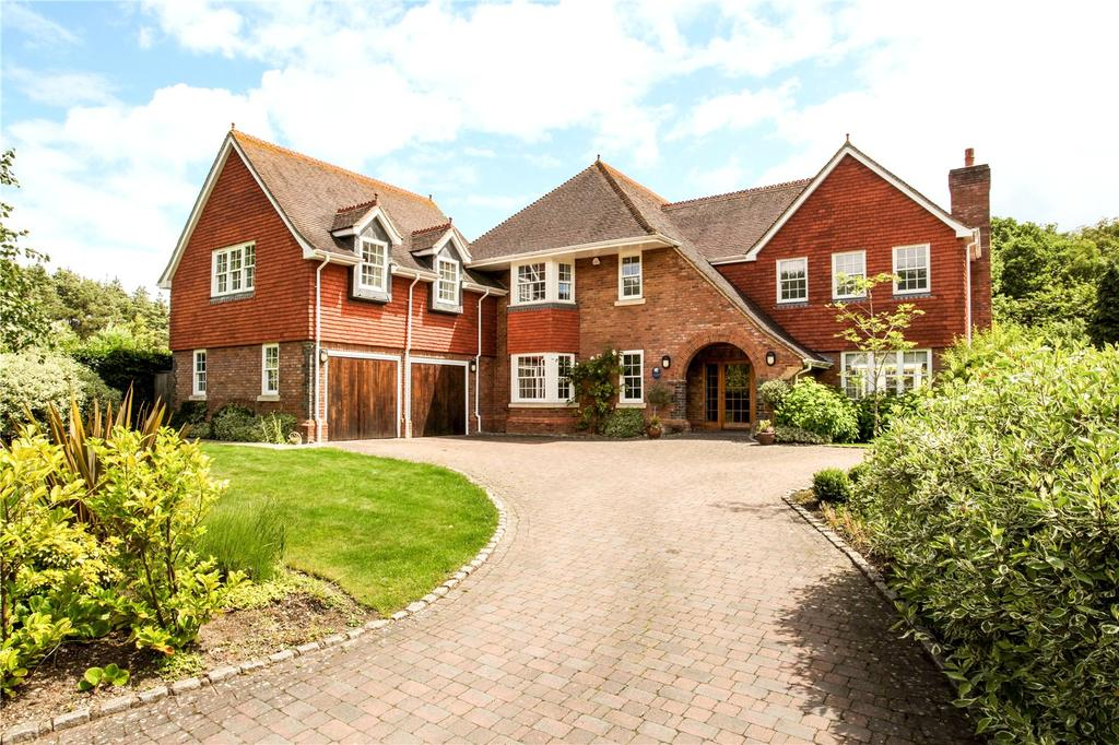 5 Bedrooms Detached House for sale in Gorse Lane, Chobham, Woking, Surrey, GU24