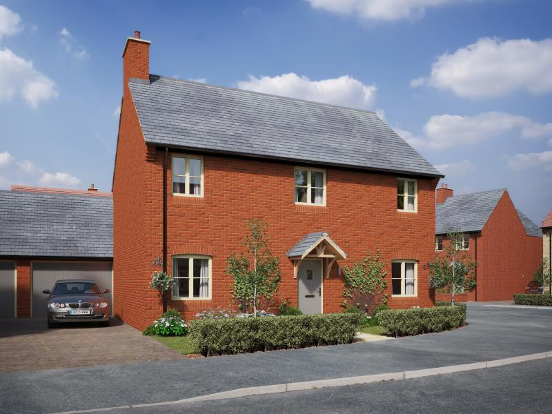 4 Bedrooms Detached House for sale in Plot 32, The Meadows, Old Stratford, Milton Keynes, Northamptonshire