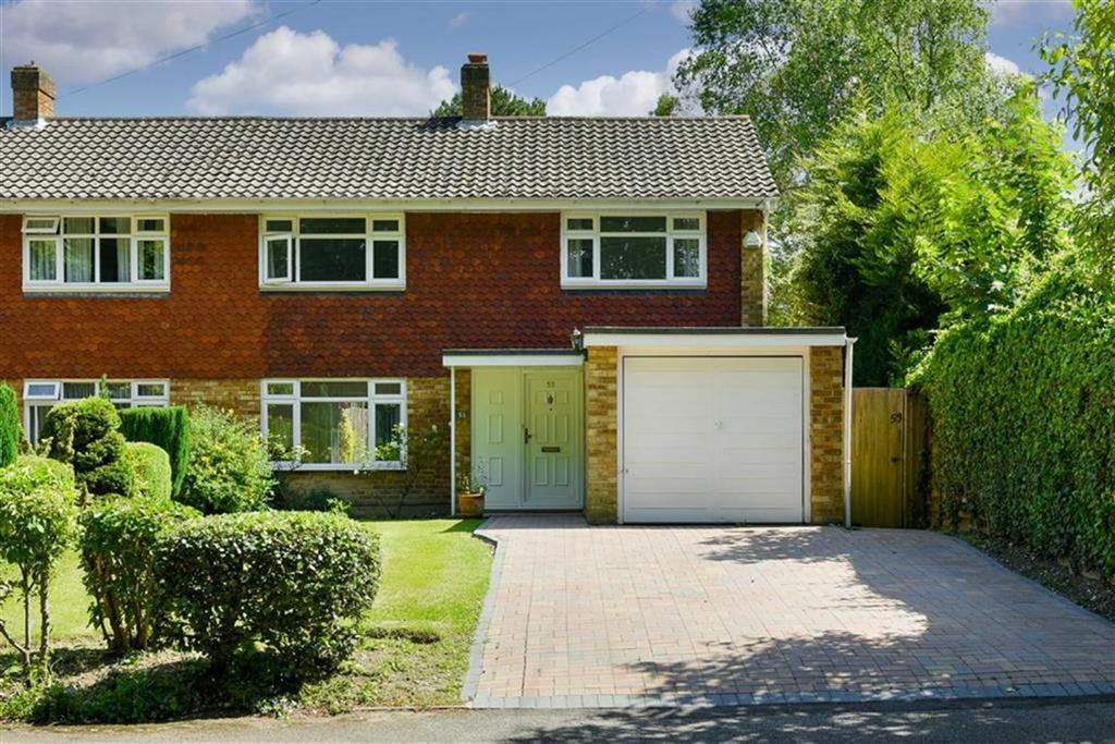 4 Bedrooms Semi Detached House for sale in Treadwell Road, Epsom, Surrey