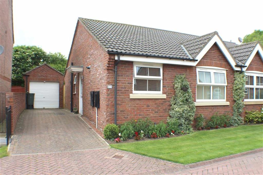 2 Bedrooms Semi Detached Bungalow for sale in Willowdale Close, Bridlington, East Yorkshire