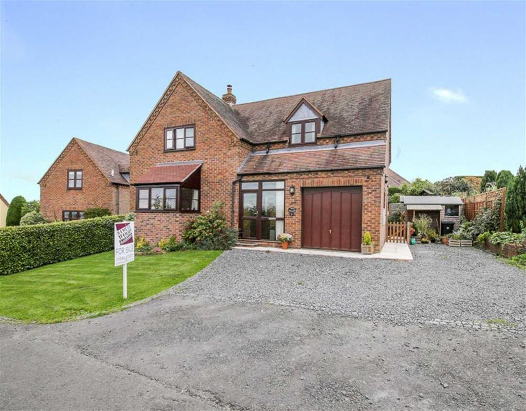 4 Bedrooms Detached House for sale in Clayton Close, Knowbury, Ludlow