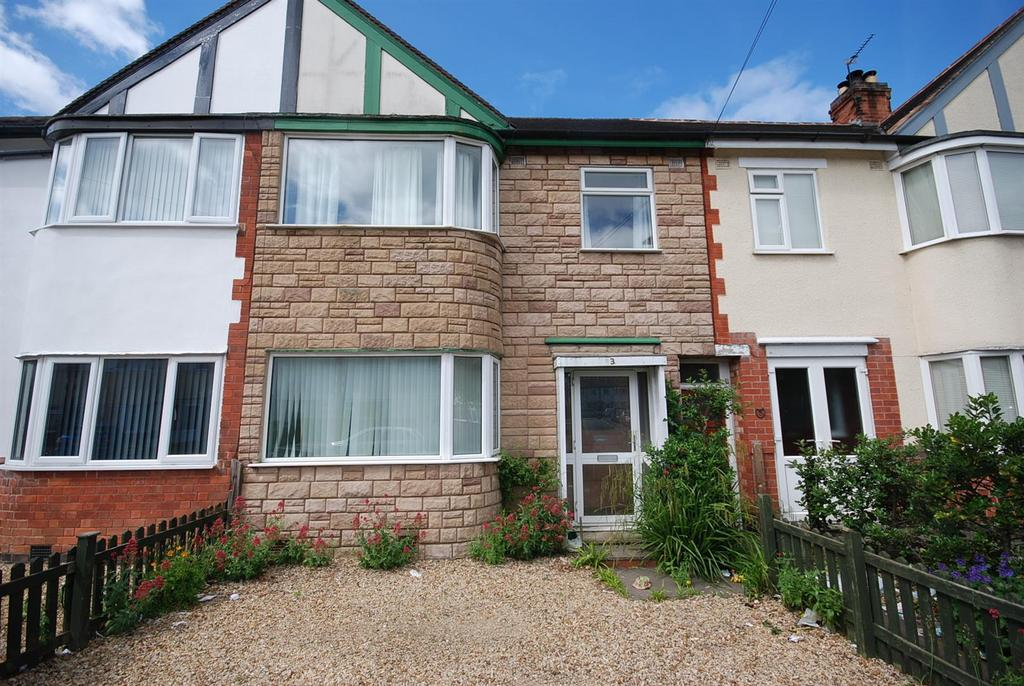3 Bedrooms Terraced House for sale in Elms Road, Melton Mowbray