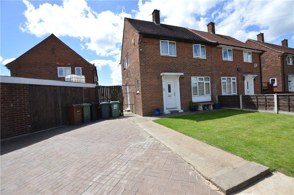 2 Bedrooms Semi Detached House for sale in Mill Green Gardens, Leeds