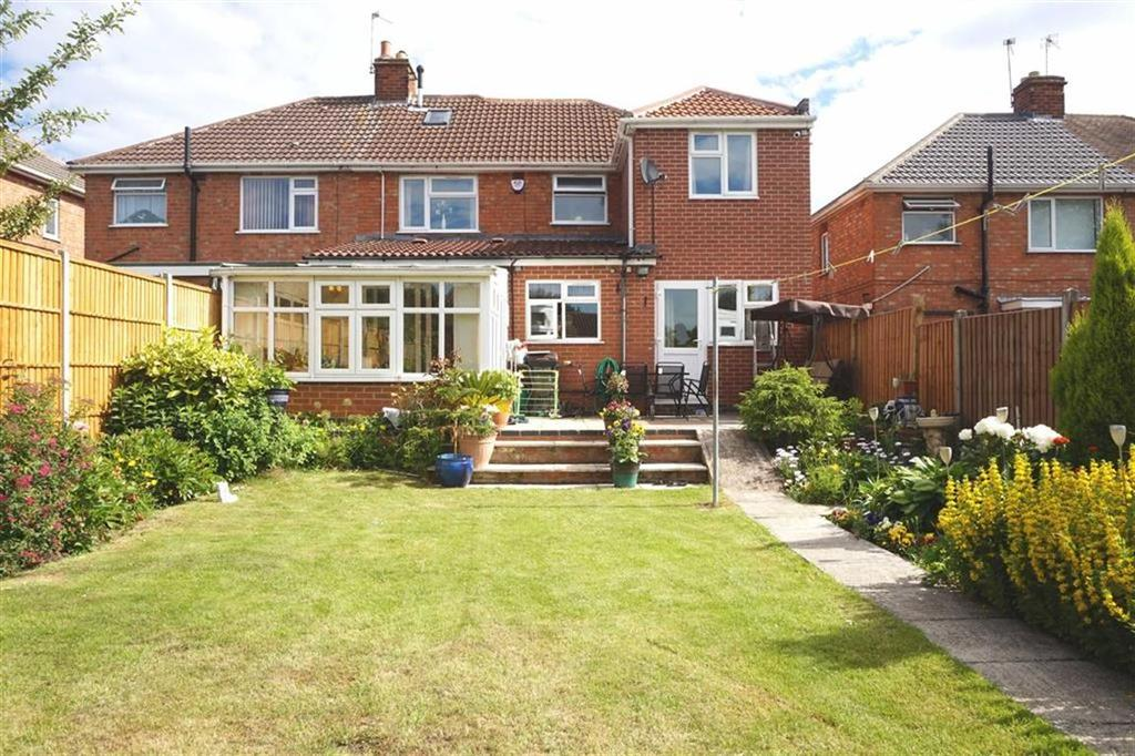 5 Bedrooms Semi Detached House for sale in Braunstone Close, Leicester