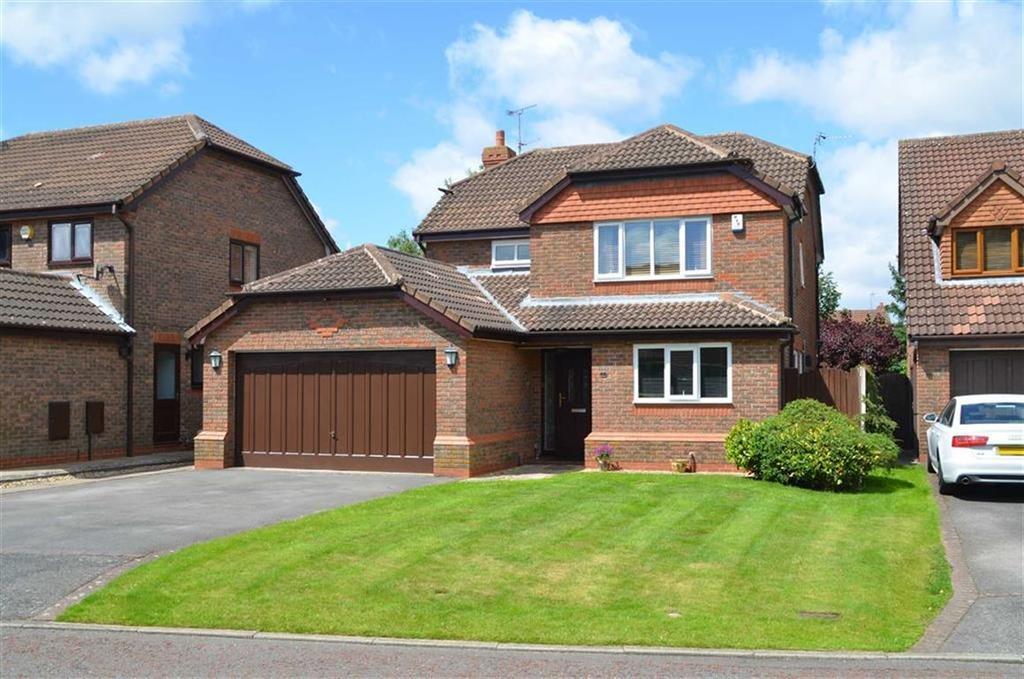 4 Bedrooms Detached House for sale in Snowdon Close, Little Sutton, CH66