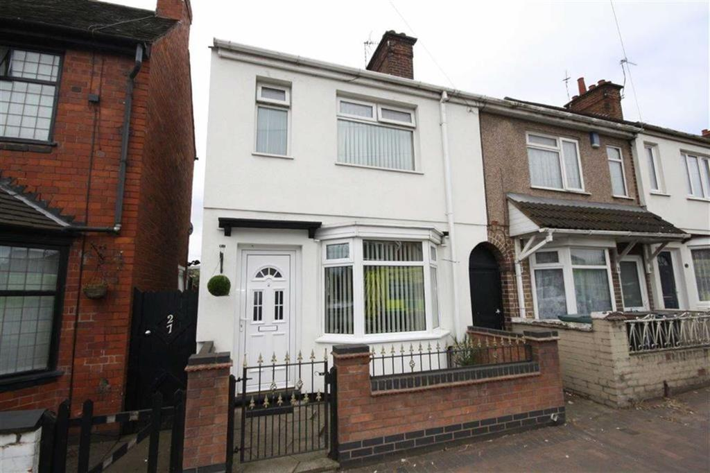 3 Bedrooms End Of Terrace House for sale in Central Avenue, Nuneaton, Nuneaton