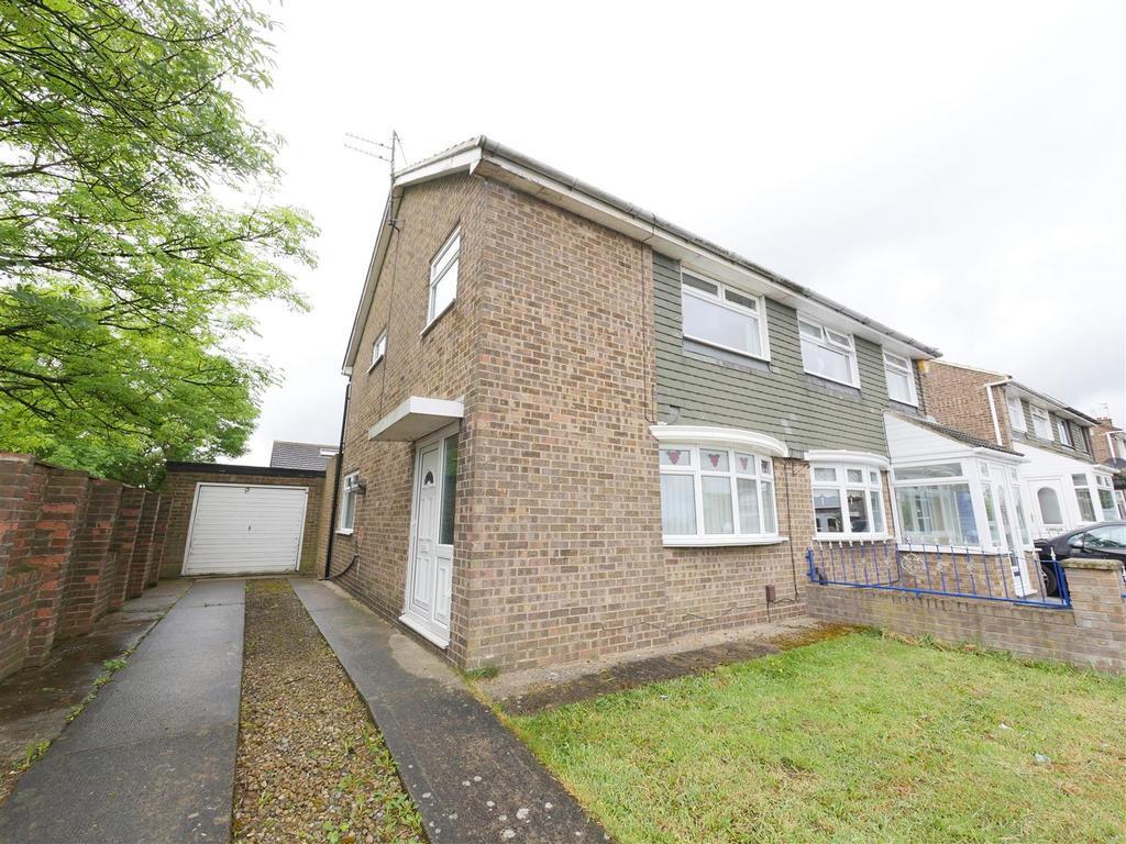 3 Bedrooms Semi Detached House for sale in Northfield Drive, Grindon, Sunderland
