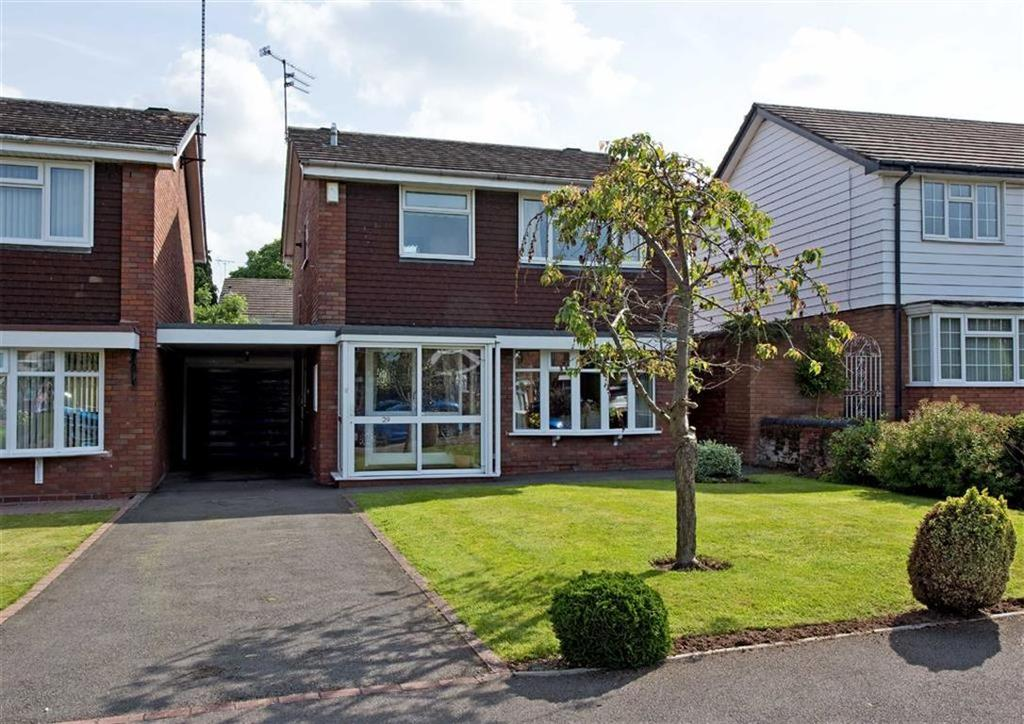 3 Bedrooms Detached House for sale in 29, Marlborough Gardens, Newbridge, Wolverhampton, West Midlands, WV6