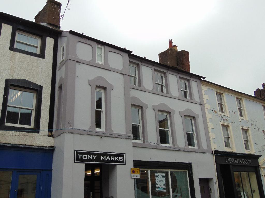 3 Bedrooms Apartment Flat for sale in The Flat, 8 Market Place, Cockermouth, Cumbria, CA13 9NQ