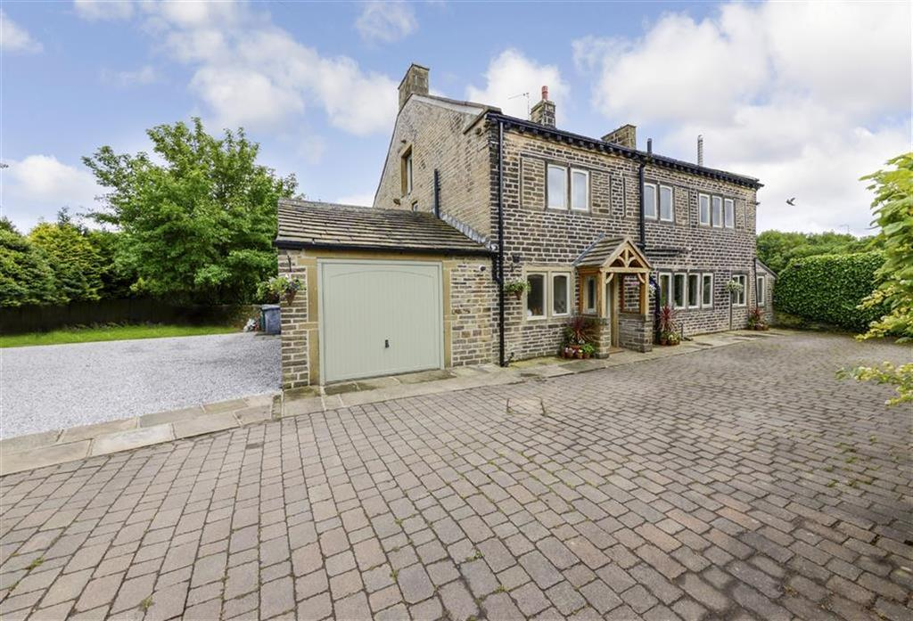 4 Bedrooms Detached House for sale in New Hey Road, Outlane, Huddersfield, HD3