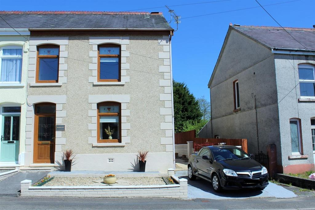 3 Bedrooms Semi Detached House for sale in Tirycoed Road, Glanamman, Ammanford
