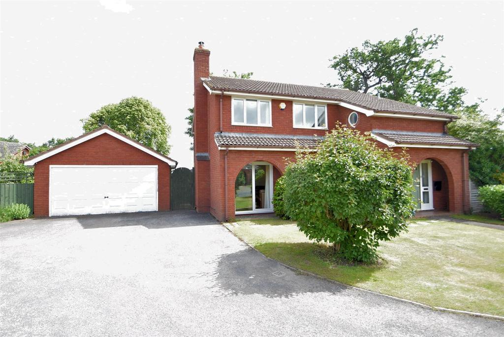 4 Bedrooms Detached House for sale in 3 Oakvale Court, Main Road, Dorrington SY5 7JW