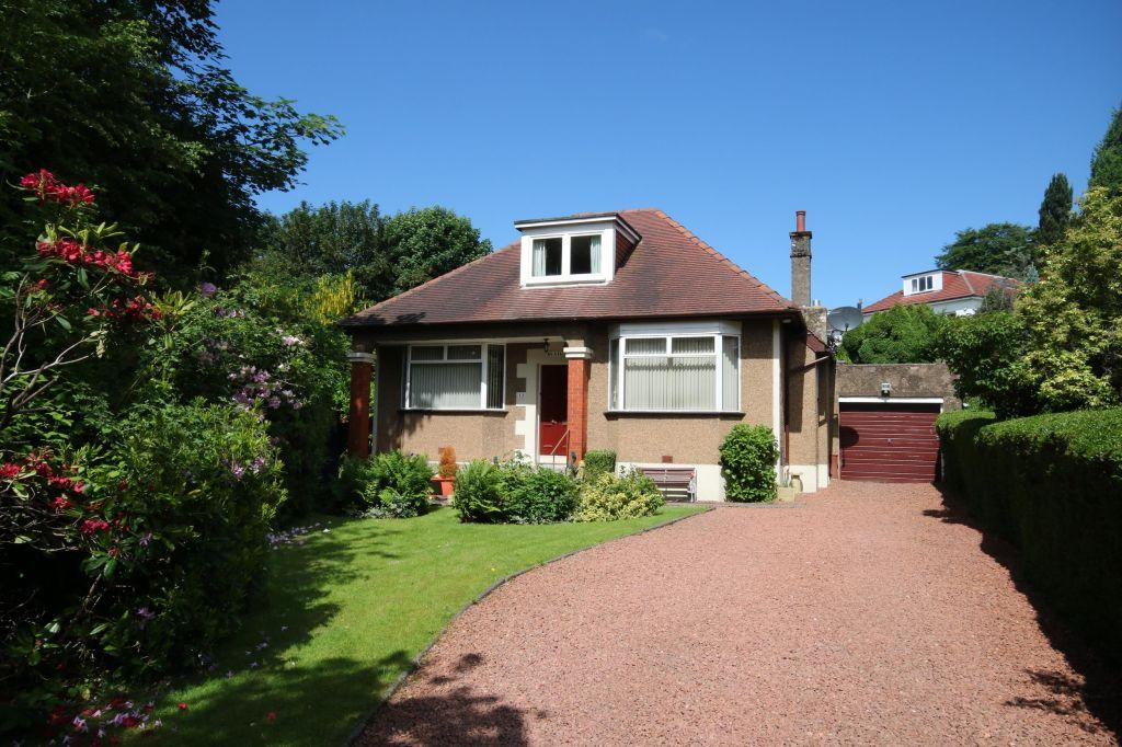3 Bedrooms Detached Bungalow for sale in 12 Cluny Drive, Bearsden, Glasgow, G61 2JG