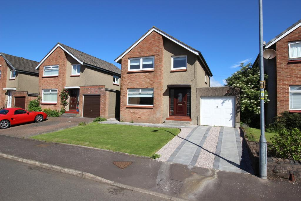 3 Bedrooms Detached House for sale in 11 Heather Avenue, Hardgate, G81 6LH