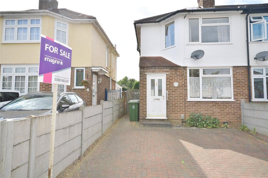 2 Bedrooms Semi Detached House for sale in Orchard Avenue, Watford, Hertfordshire, WD25