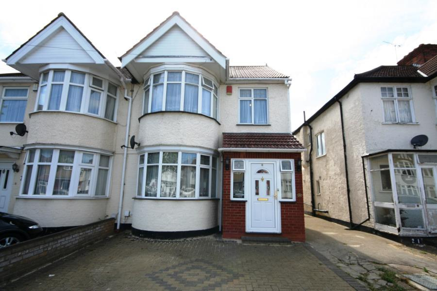 4 Bedrooms Semi Detached House for sale in Oakfield Avenue, Kenton, HA3 8TH