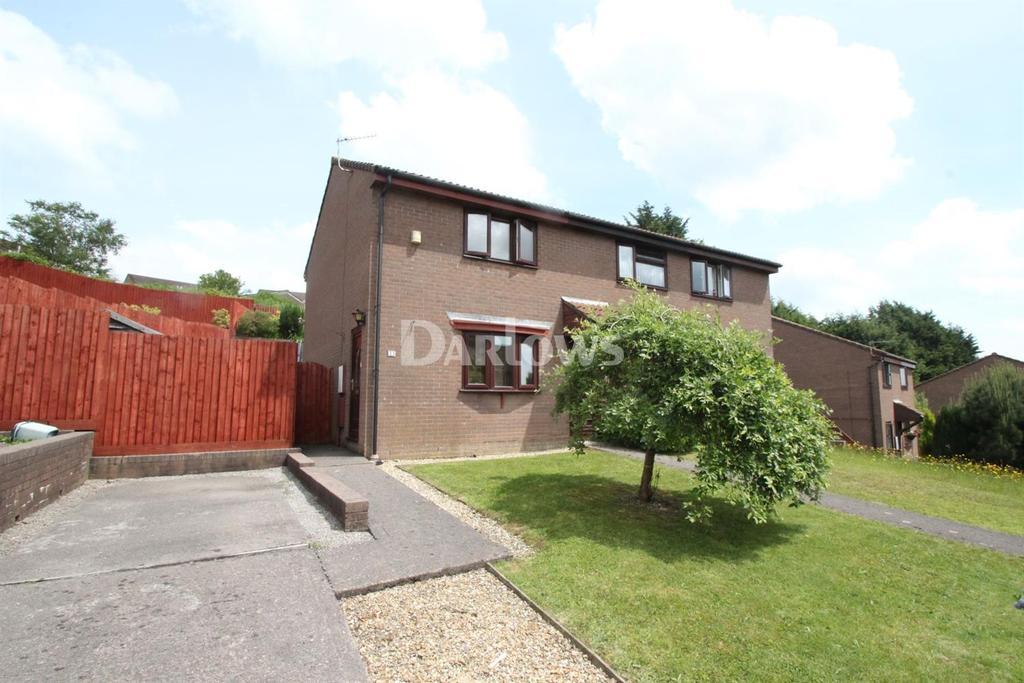 2 Bedrooms End Of Terrace House for sale in Brynawel, Caledefryn