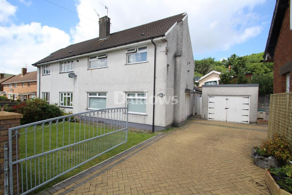 3 Bedrooms Semi Detached House for sale in Morien Crescent, Rhydyfelin
