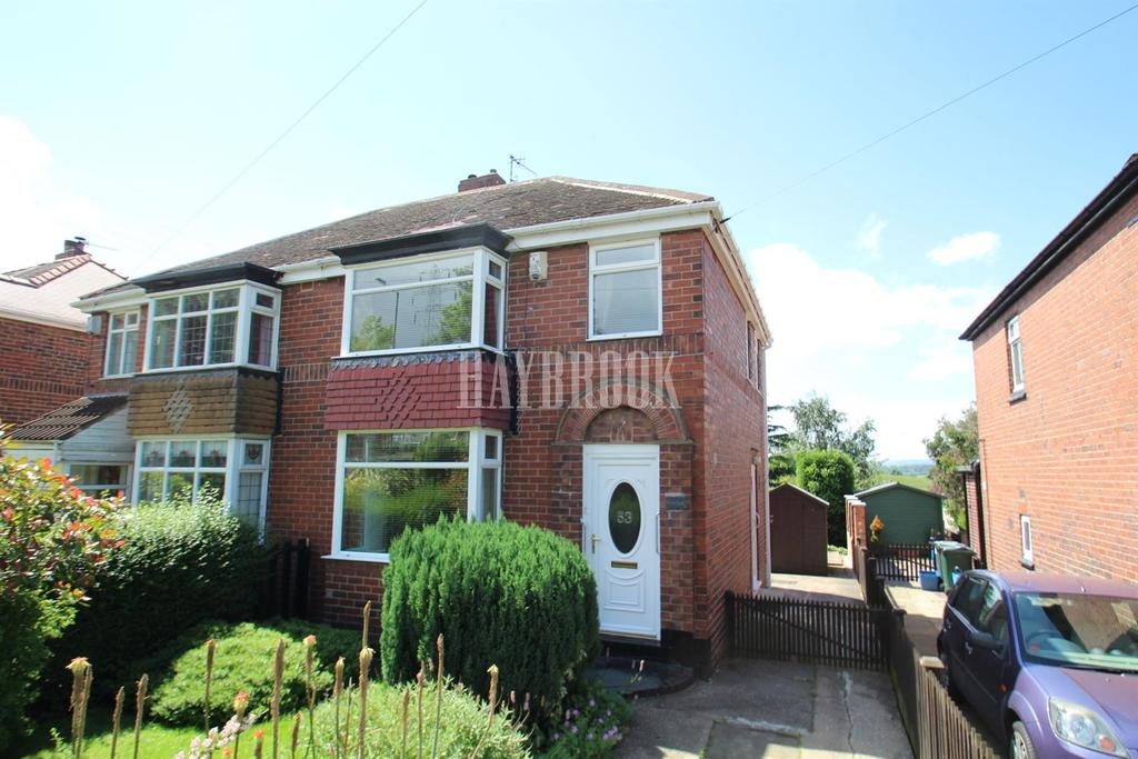 3 Bedrooms Semi Detached House for sale in Upper Wortley Road, Kimberworth