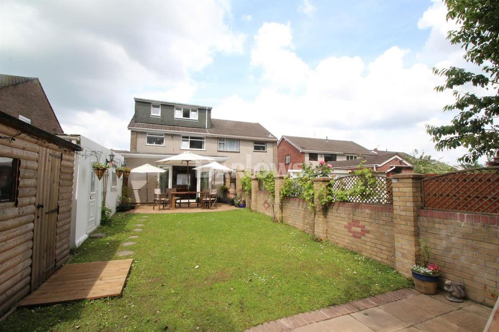 4 Bedrooms Semi Detached House for sale in Lon-y-Gors, Caerphilly