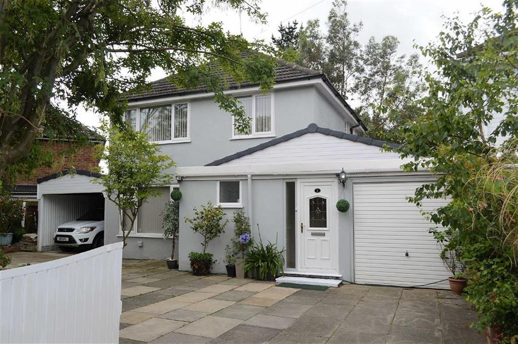 4 Bedrooms Detached House for sale in Warren Drive, Noctorum, CH43