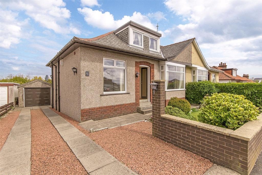3 Bedrooms Semi Detached Bungalow for sale in 57 Merryvale Avenue, Giffnock, Glasgow, G46