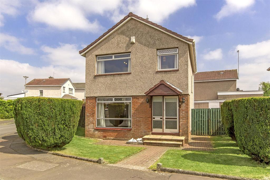3 Bedrooms Detached House for sale in 5 Ben Wyvis Drive, Paisley, Renfrewshire, PA2
