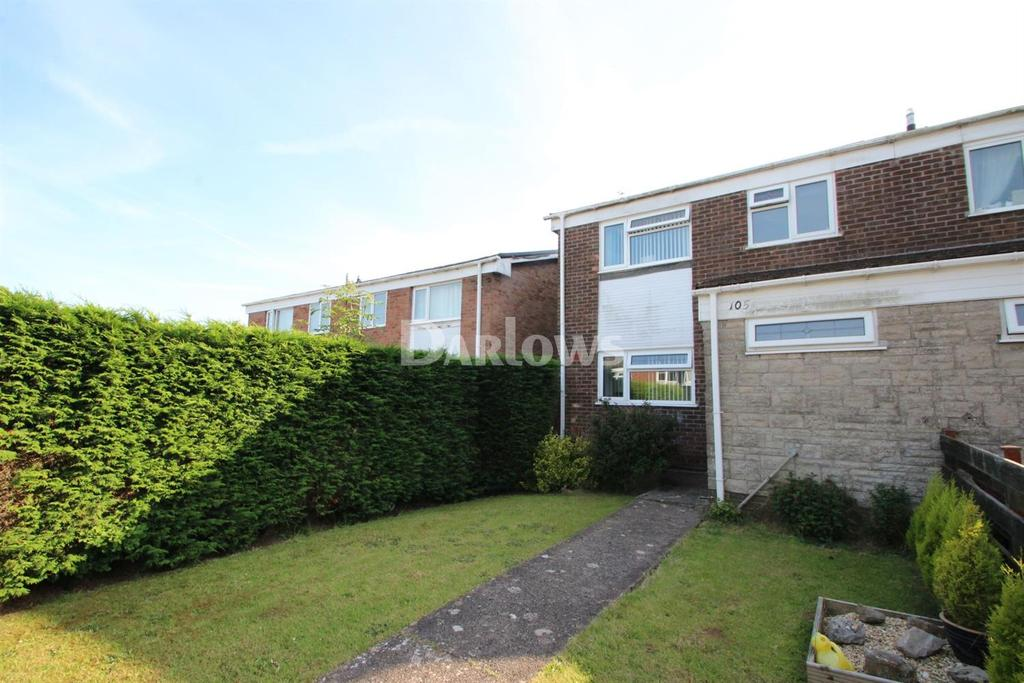 3 Bedrooms End Of Terrace House for sale in Glenwood, Llanedeyrn, Cardiff
