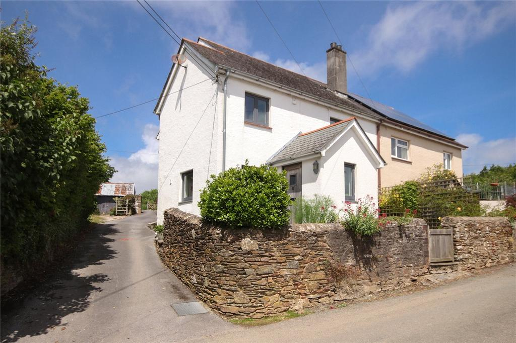 3 Bedrooms Semi Detached House for sale in Woodleigh, Kingsbridge, Devon, TQ7