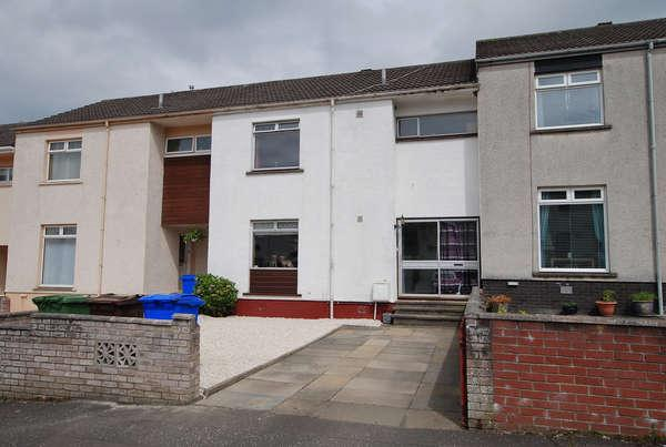 3 Bedrooms Terraced House for sale in 37 Heather Park, Ayr, KA7 3XL
