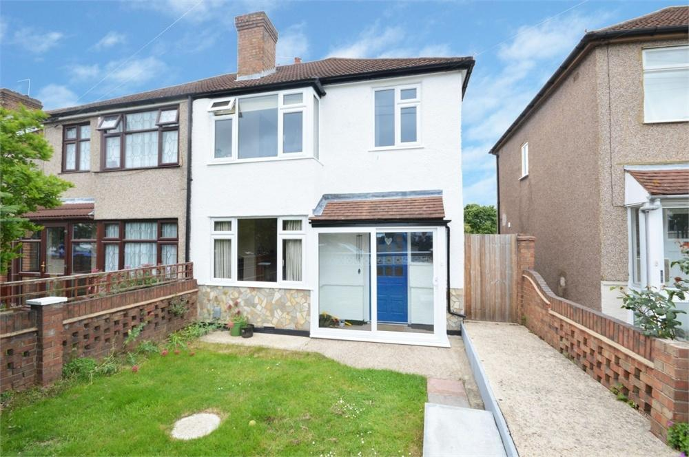3 Bedrooms Semi Detached House for sale in Wilmot Road, West Dartford
