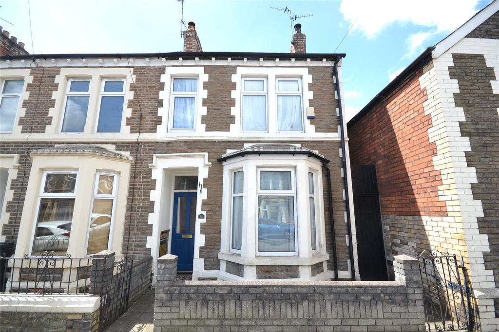 3 Bedrooms End Of Terrace House for sale in Wilson Street, Splott, Cardiff, CF24
