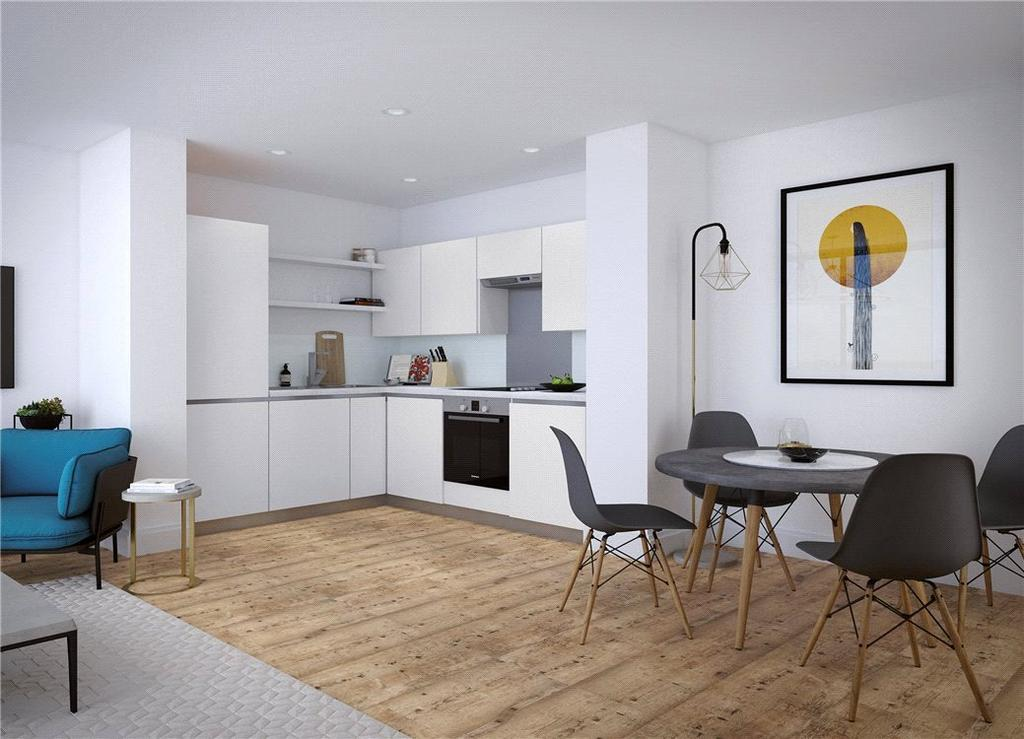1 Bedroom Flat for sale in The Bank, Sheepcote Street, Birmingham, B15