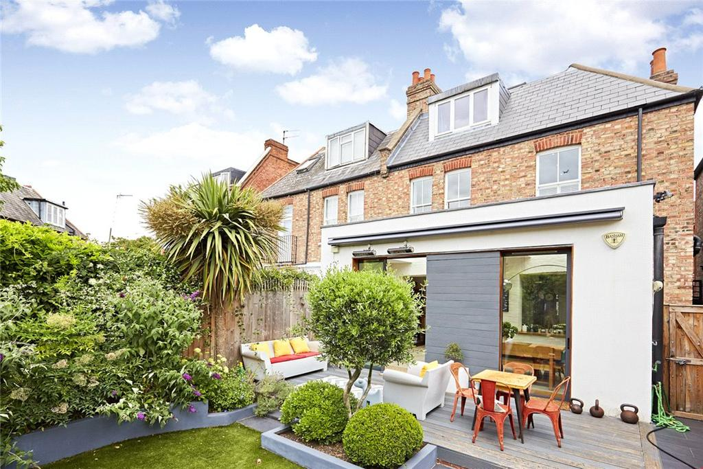 4 Bedrooms Semi Detached House for sale in Fauconberg Road, Chiswick, London, W4