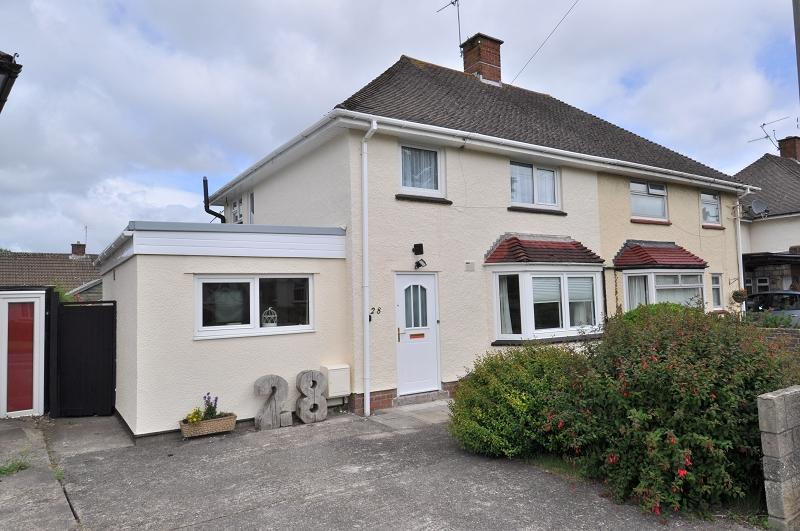 3 Bedrooms Semi Detached House for sale in 28 Plas Essyllt, Dinas Powys, The Vale Of Glamorgan. CF64 4QR