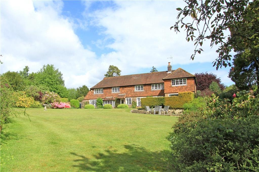 5 Bedrooms Detached House for sale in Abinger Hammer, Dorking, Surrey, RH5