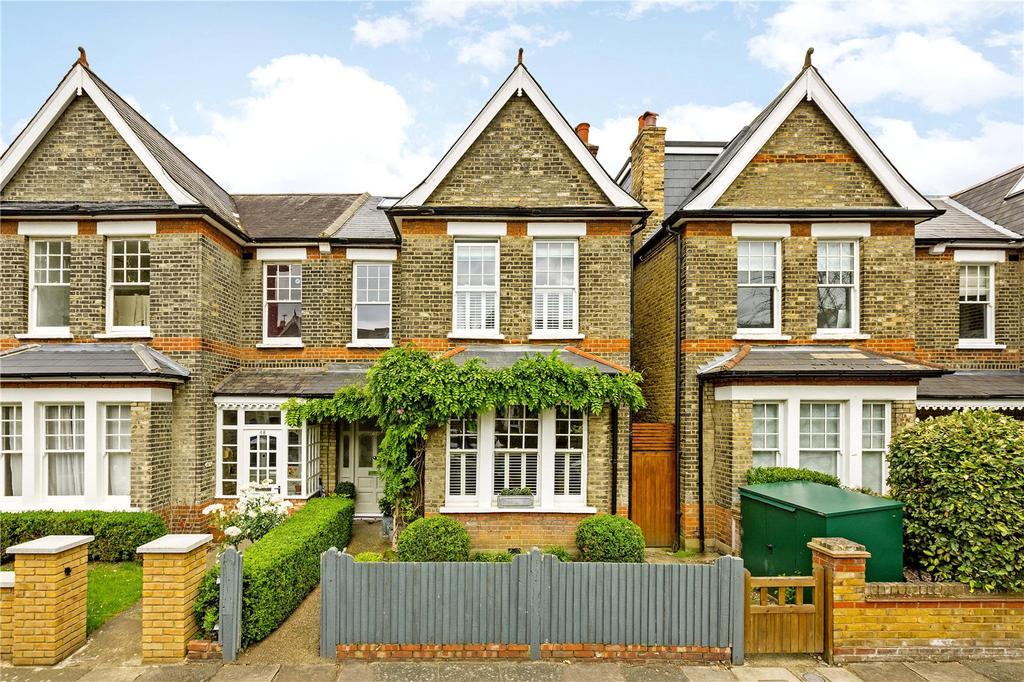 4 Bedrooms Semi Detached House for sale in Carlton Road, East Sheen, London, SW14
