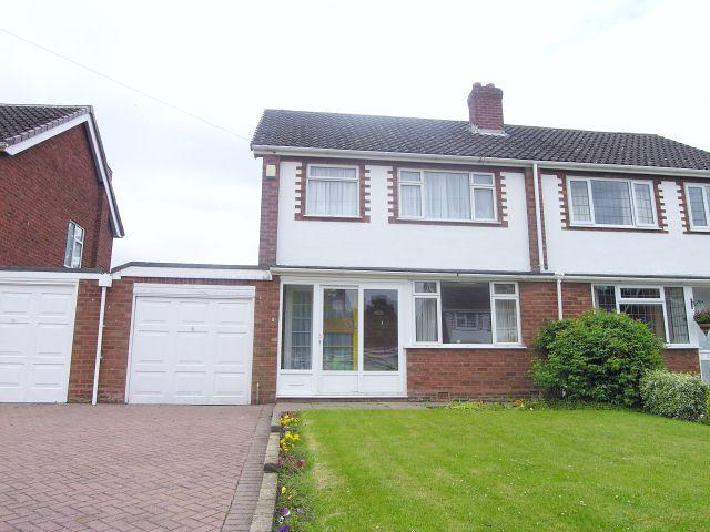 3 Bedrooms Semi Detached House for sale in Whitehouse Way,Aldridge,Walsall