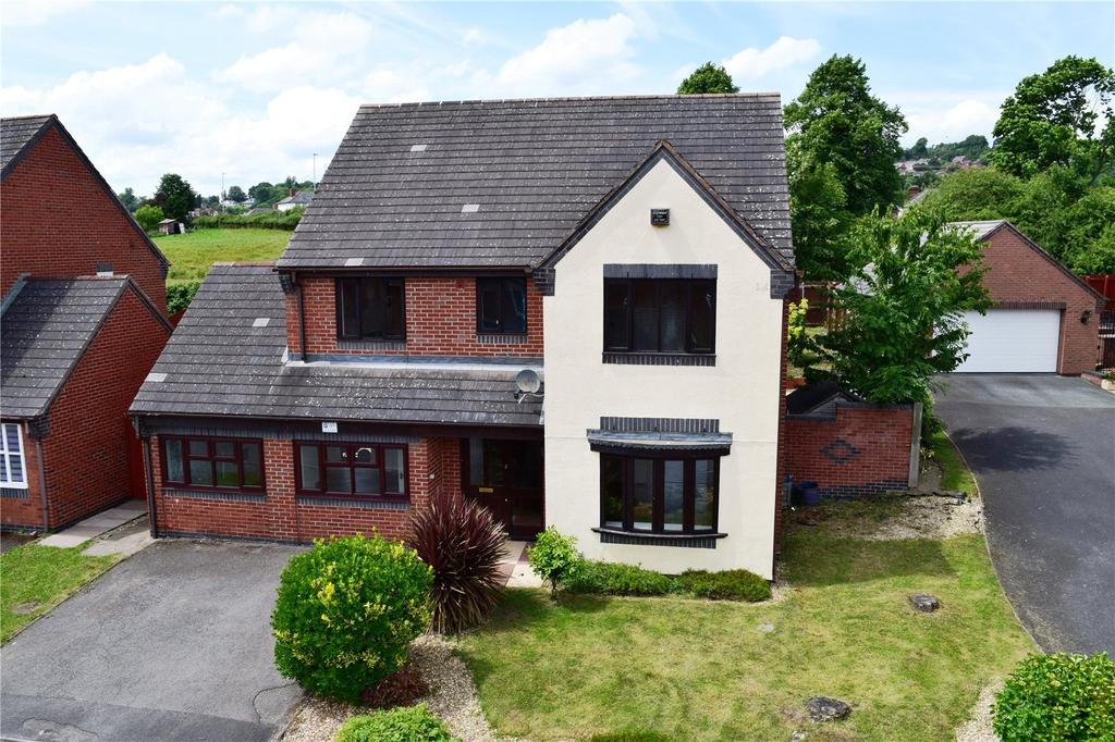 5 Bedrooms Detached House for sale in Little Henfaes Drive, Welshpool, Powys