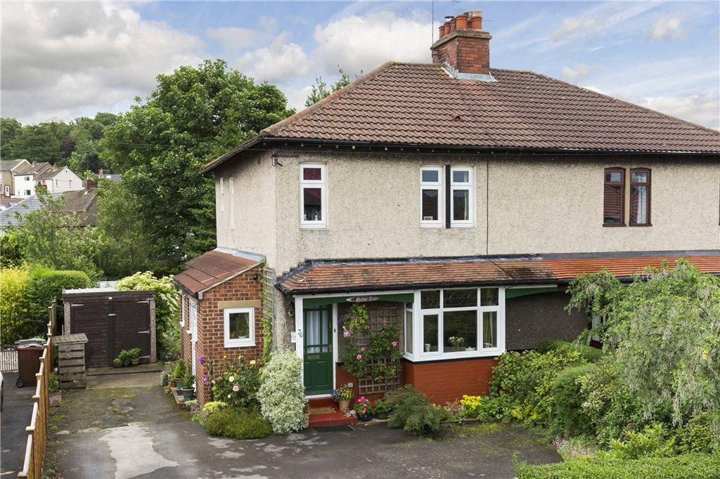 3 Bedrooms Semi Detached House for sale in Netherfield Road, Guiseley, Leeds, West Yorkshire