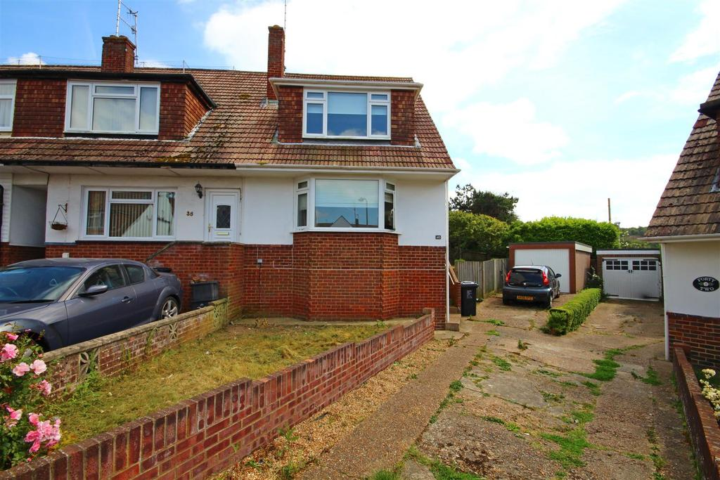 3 Bedrooms End Of Terrace House for sale in Heathfield Crescent, Mile Oak, Portslade