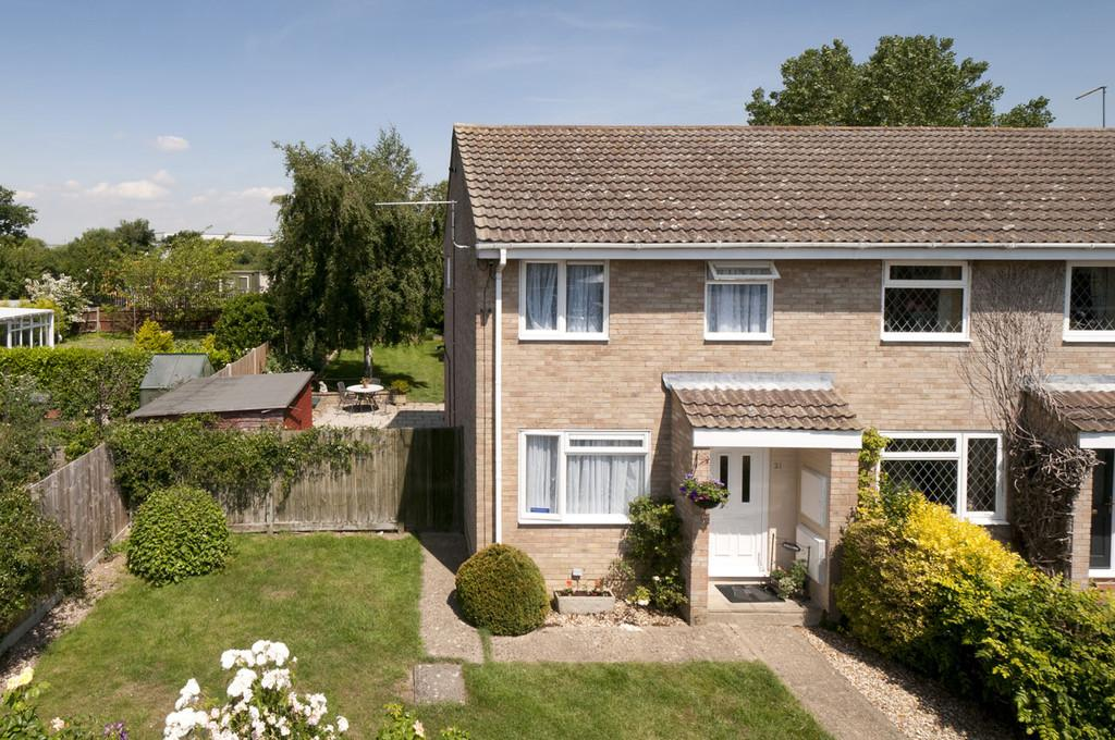 3 Bedrooms End Of Terrace House for sale in Dimmock Close, Paddock Wood