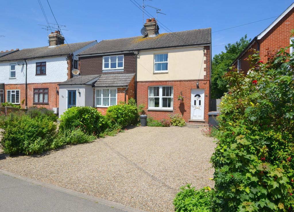 3 Bedrooms Semi Detached House for sale in School Lane, Broomfield
