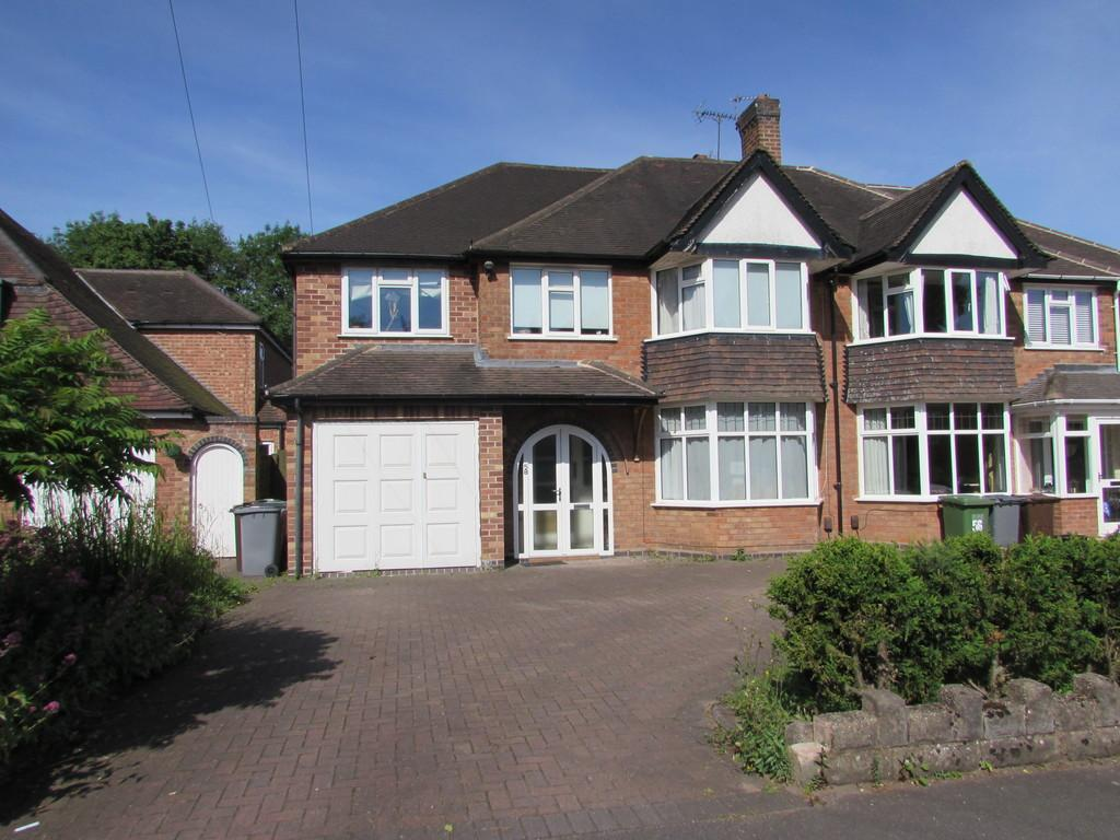 5 Bedrooms Semi Detached House for sale in Greswolde Road, Solihull