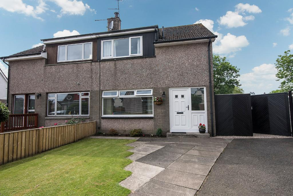 4 Bedrooms Semi Detached House for sale in Hume Crescent, Bridge of Allan, Stirling, Scotland, FK9 4SN