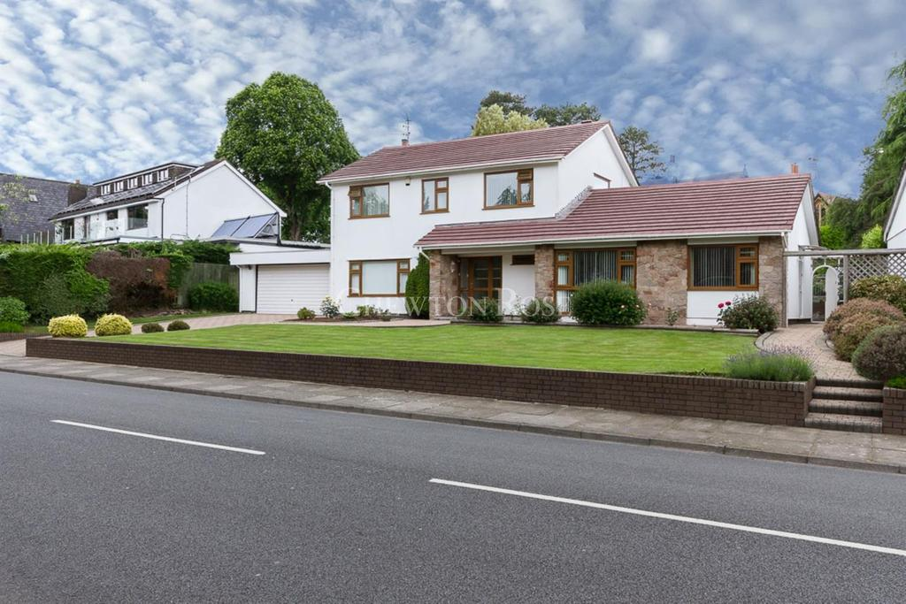4 Bedrooms Detached House for sale in Lisvane, Cardiff