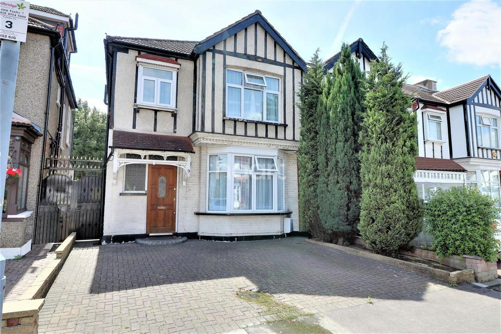 3 Bedrooms End Of Terrace House for sale in Blenheim Avenue, Gants Hill, Ilford, Essex