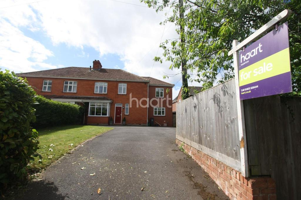 4 Bedrooms Semi Detached House for sale in Hamilton Road, Taunton