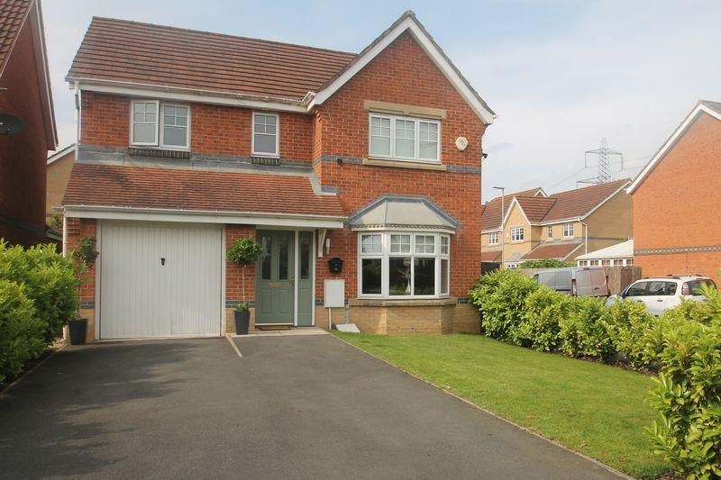 4 Bedrooms Detached House for sale in Cotherstone Close, Hunters Green, Eaglescliffe TS16 0GD